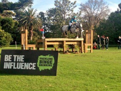 Be The Influence Sponsored Jump At Melbourne 3 Day Event