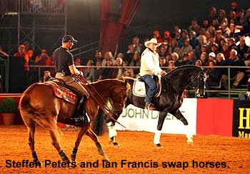 Steffen Peters and Ian Francis