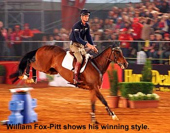 William Fox-Pitt in the All Star Spectacular