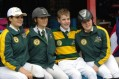 Inter Pacific 2013 Australian Team . Annalise Dushka WA, Kathleen Barnes QLD, Brand on Beneke NSW and Kate Rowe VIC